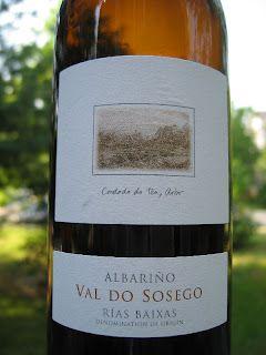 Val do Sosego Albarino 2010