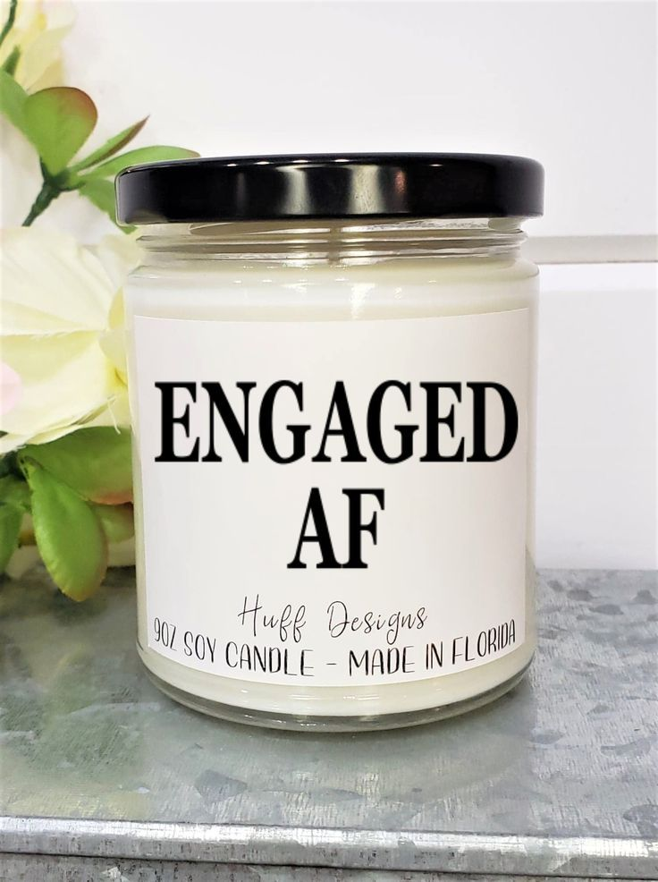 Engagement gift for her engaged af i said yes