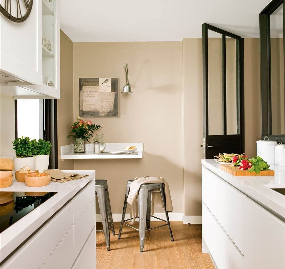 Cocinas pequeñas y alargadas: la distribución perfecta | Pinterest ...
