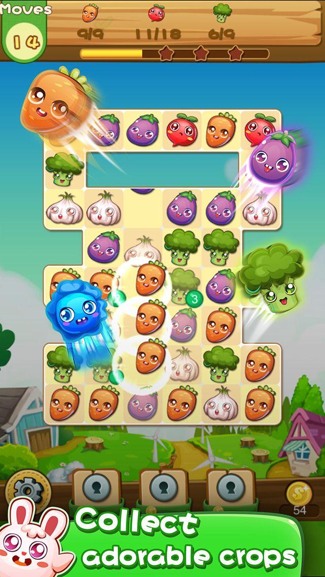 App Shopper: Farm Pop Fun - Best match 3 crush game! (Games)