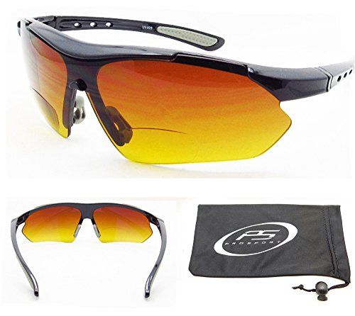 ad3c3a2195 proSPORTsunglasses Bifocal Sun Reader Sunglasses 200 for Motorcycle riding  Golf Cycling Driving and all sports Activites High Definition HD Gradient  Lenses ...