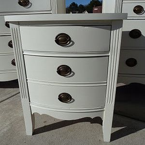 Vintage Charm and Restoration painted a furniture set ...
