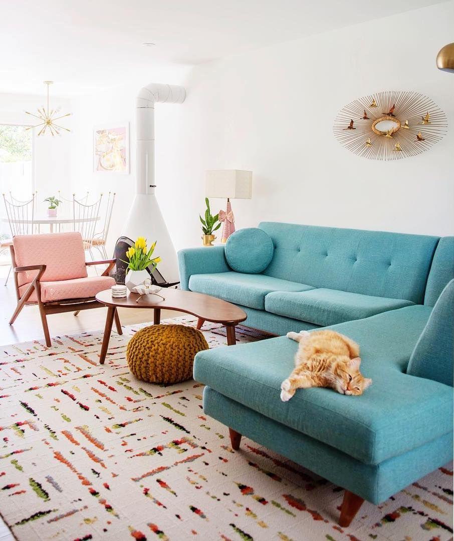 25 Fabulous Mid Century Modern Sofas Mid Century Modern Living