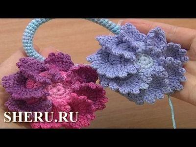 Crochet - Детское болеро крючком. Circular bolero with crochet ...