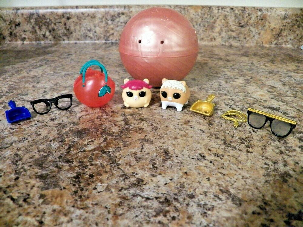 Lol Surprise Doll Pets Series Cherry Ham Hamster Color Changing