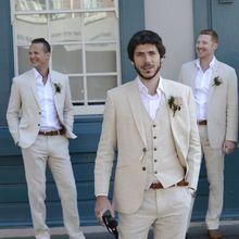 de Matrimonio de Padrino Capa 2017 Hombres De Color Diseños Bragas de Tuxedo Los Boda Beige del de Playa Últimos la Marfil Traje Padrinos Trajes Lino boda qZqfStw
