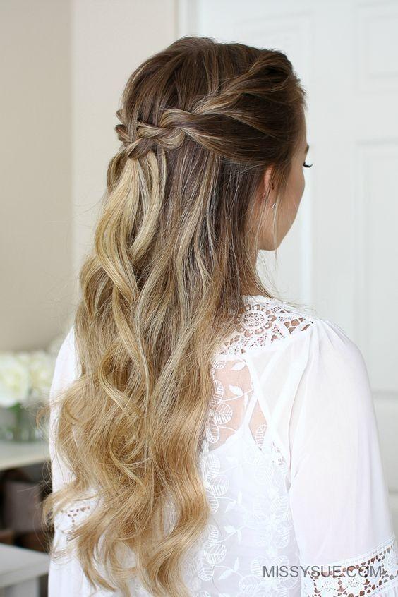 Fur Frauen Trends Einfache Frisuren Fur Das Faule Madchen 2019 Geflochtene Frisuren Frisurenanleitung Coole Frisuren