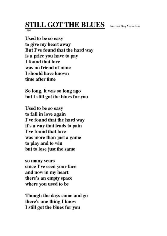 you got the love lyrics
