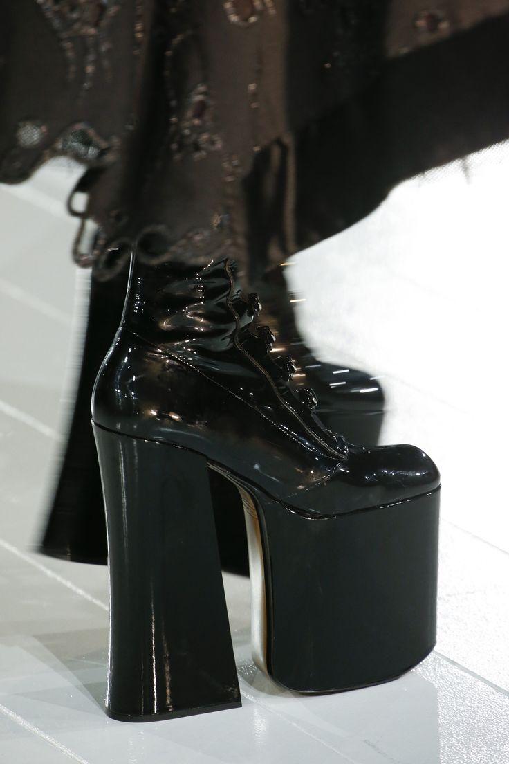 Marc Jacobs Kiki Platform Buckle Boot 170mm In Black