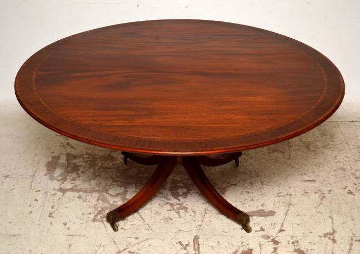 This Antique Regency Style Table Is Fabulous Quality U0026 A Great Size. It Was  Originally Made By The Famous Maker U0027William Tillmanu0027 U0026 I Have Just Had It  ...