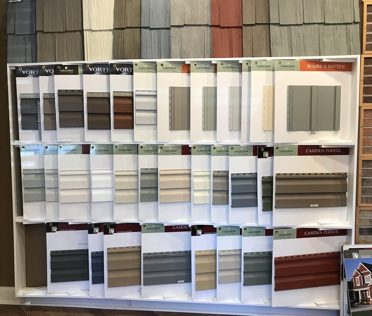 Vinyl Siding Options At The Schumacher Homes Design Center