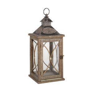 Antique Lantern in Beige