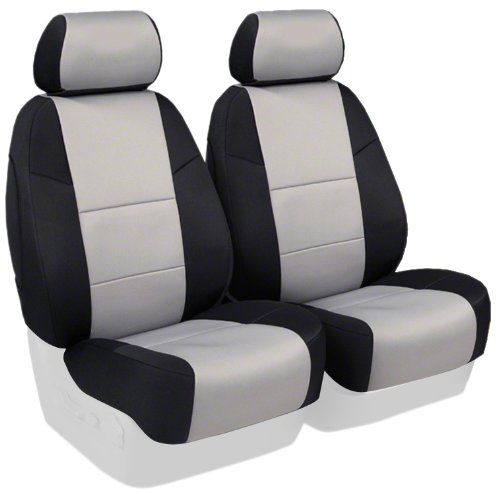 Coverking Custom Fit Front 50 50 Bucket Seat Cover For Select