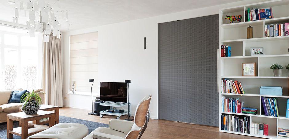 Prachtige overgang tussen speelkamer en woonkamer d.m.v. een met ...