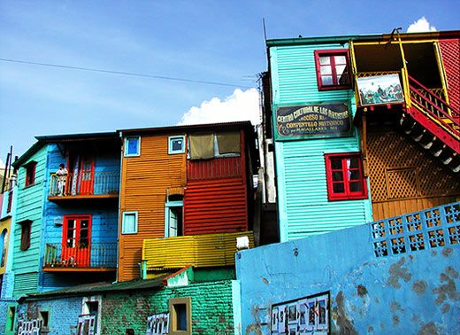 Colorful House colorful houses in buenos aires-www.opentravel | architecture