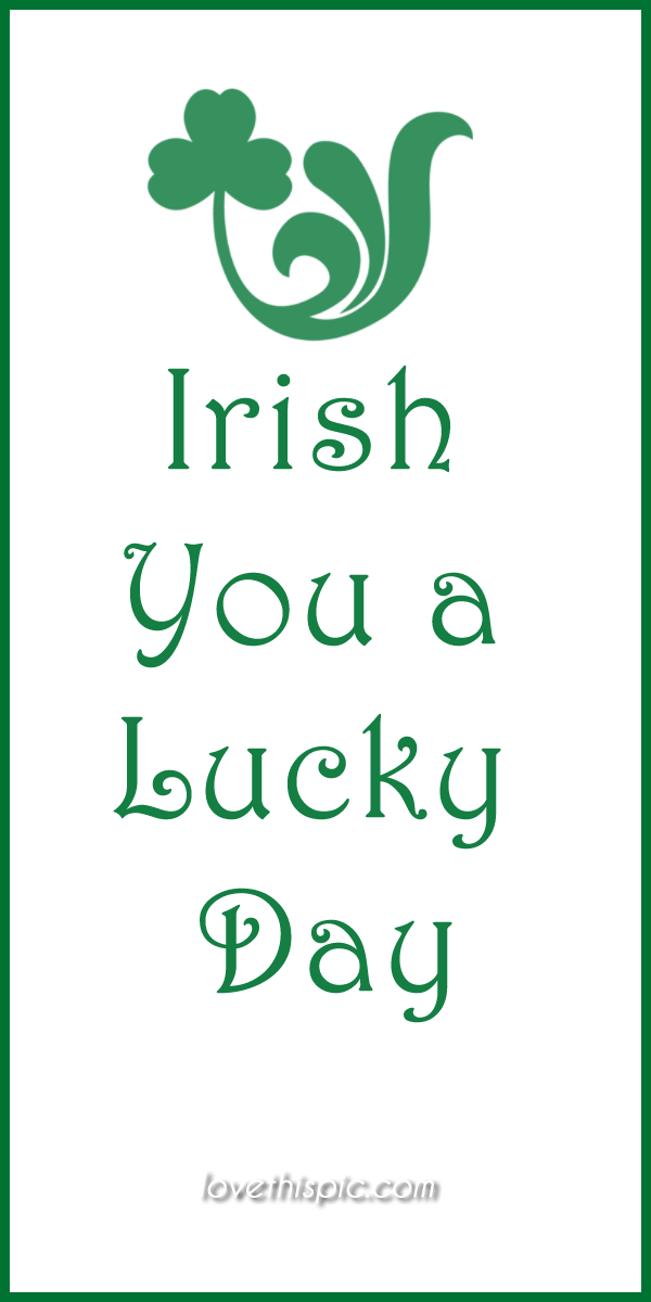 Another fun quote for St. Patty's Day! | St patricks day ...