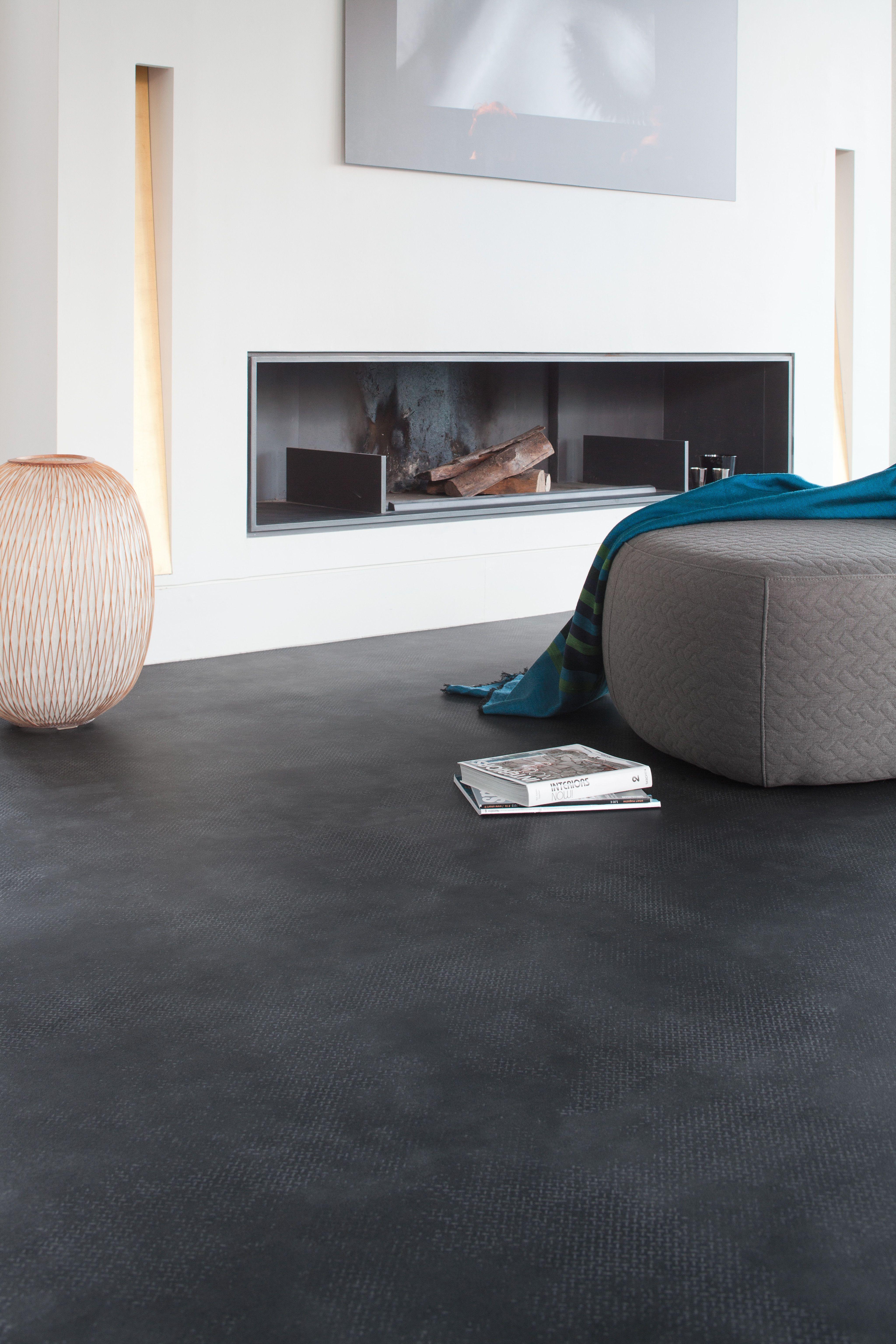 donkere pvc click tegels betonlook dark slate bestel tot 6