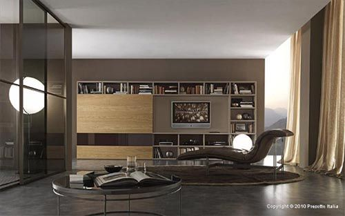 Italian Furniture  Living Room Storage  The Furniture Enchanting Italian Living Room Design Design Inspiration