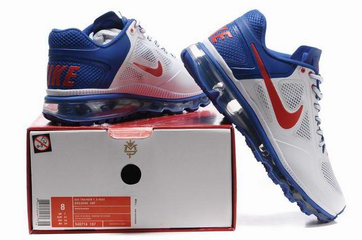 huge selection of 54ca2 fd768 White Navy Nike Air Max 2013 Men Sneakers 205