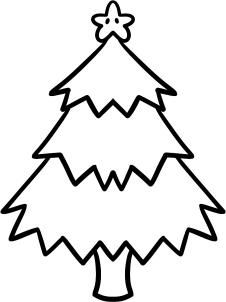 How To Draw A Christmas Tree For Kids By Dawn With Images