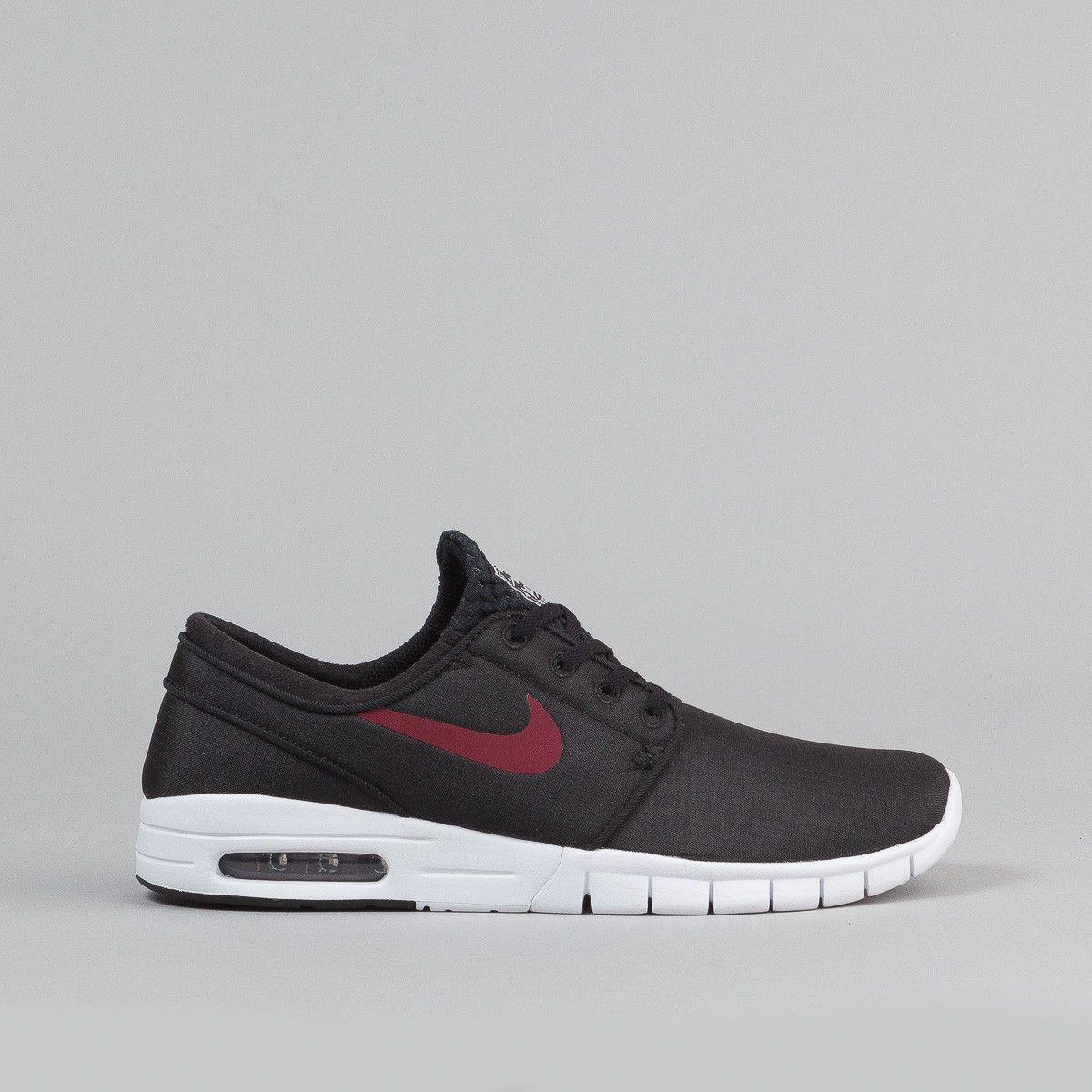 Nike Blazer Rouge Fils Noir Et Blanc