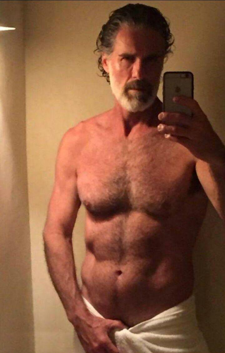Hot men over 50