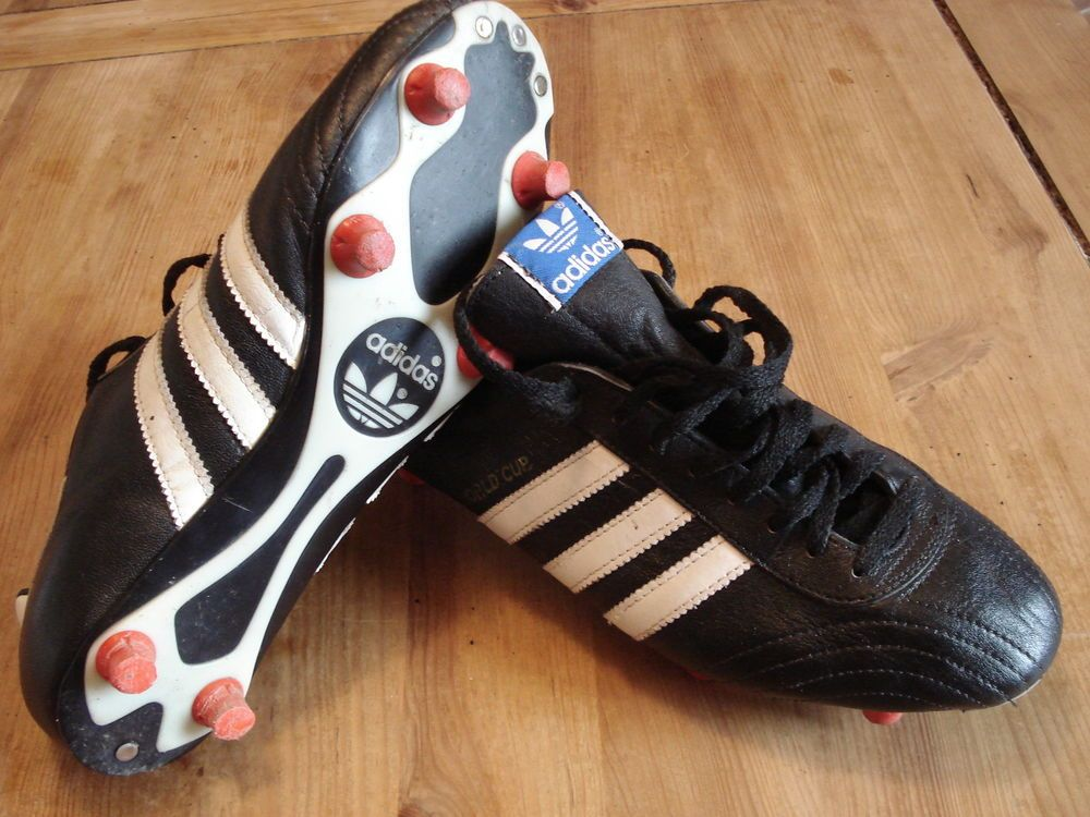 Vgc Vintage Adidas World Cup 1978 Boots Cleats Original Not Remake