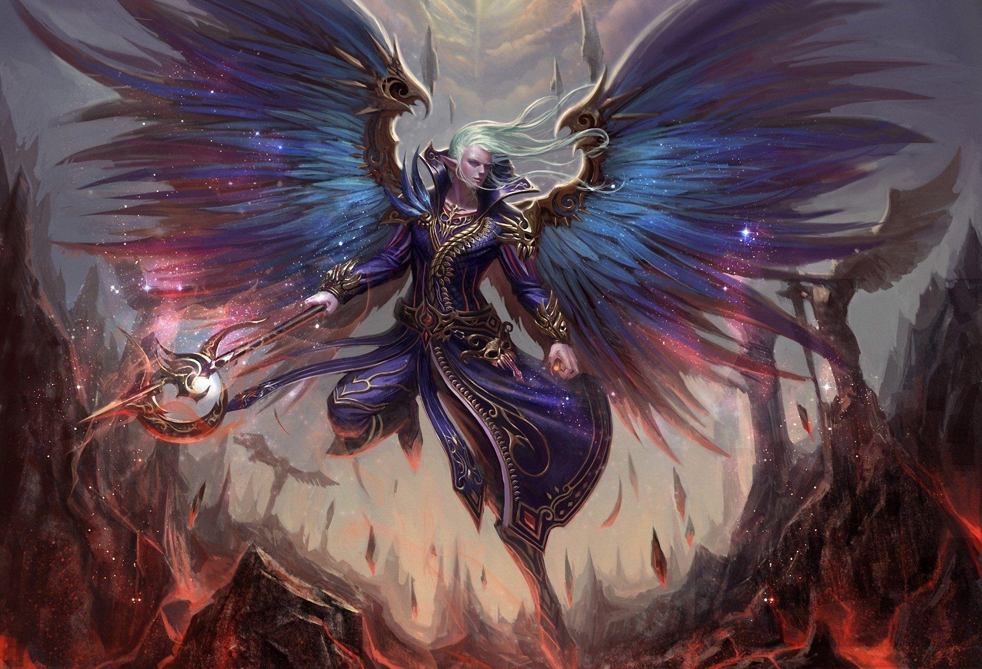 208 Angel Warrior Hd Wallpapers Backgrounds Wallpaper Abyss Warriors Wallpaper Angel Warrior Angel Art Anime male angel wallpaper