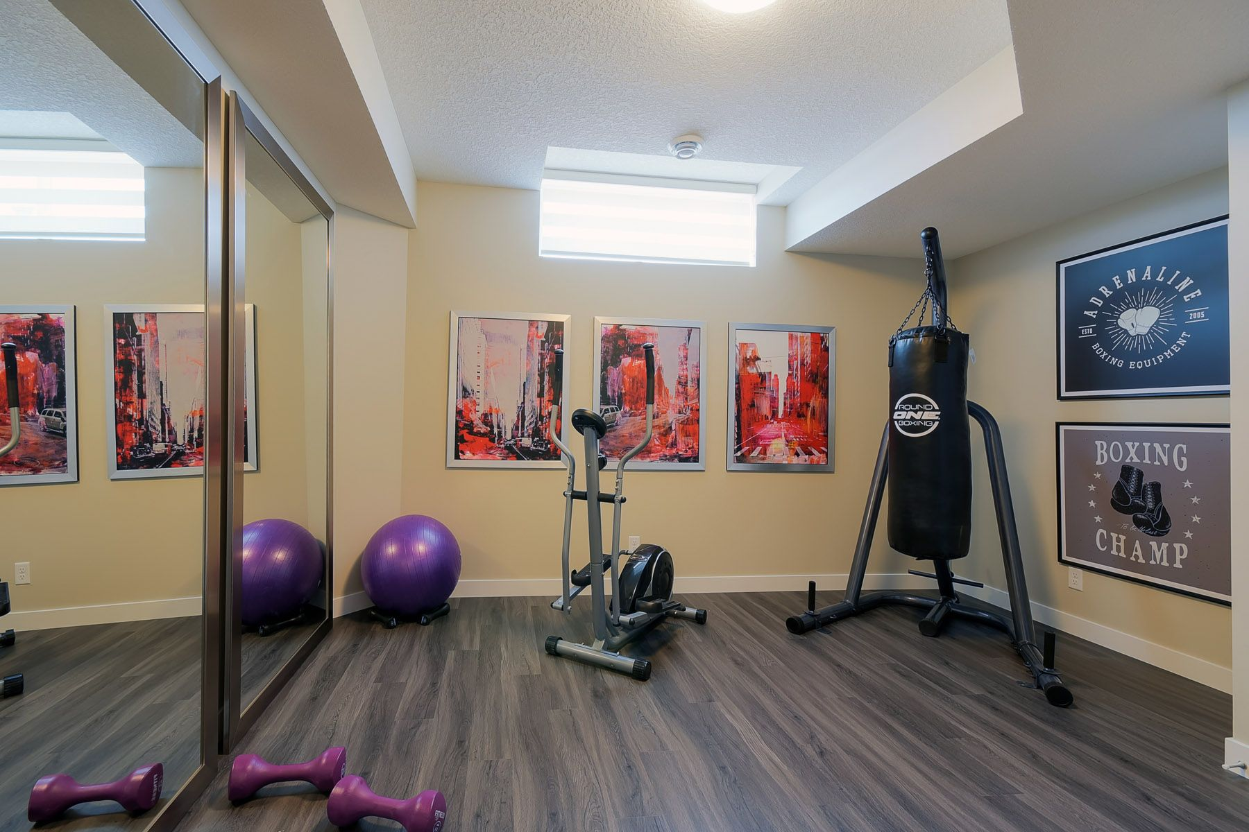 Basement Gym Basement Gym Low Ceiling Basement Low Ceiling