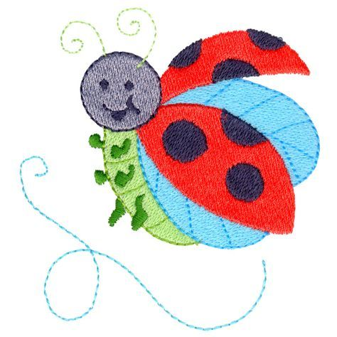 Free Embroidery Design Ladybug Free Embroidery Designs