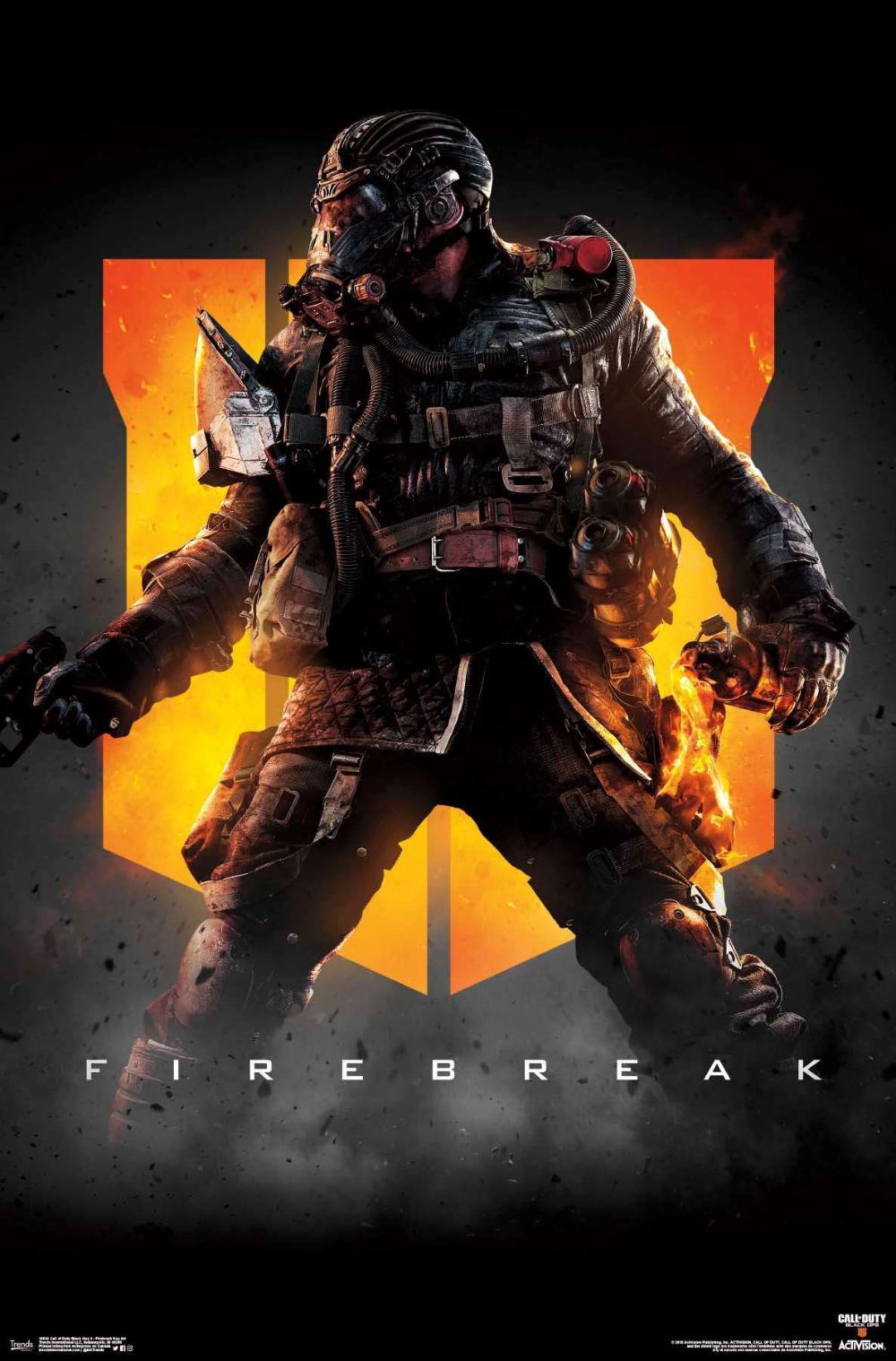 Call Of Duty Black Ops 4 Firebreak Key Art Call Of Duty Black Ops 3 Keys Art Black Ops 4