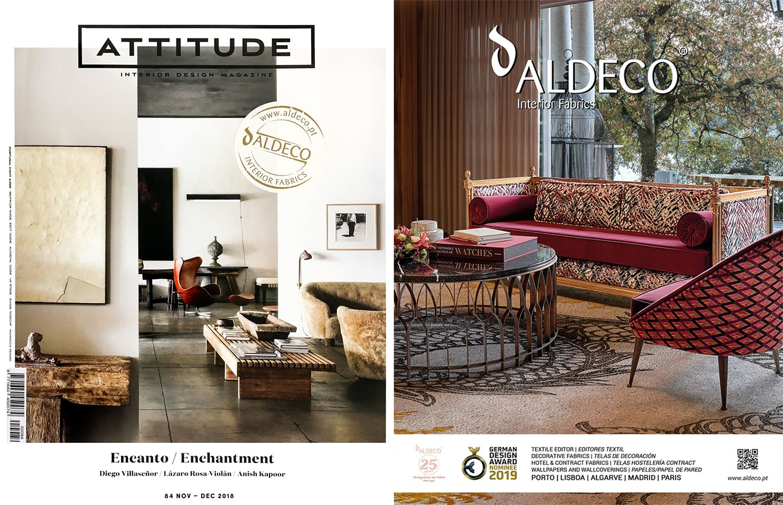 Enchanting Interior Decor With Aldeco Interior Fabrics On