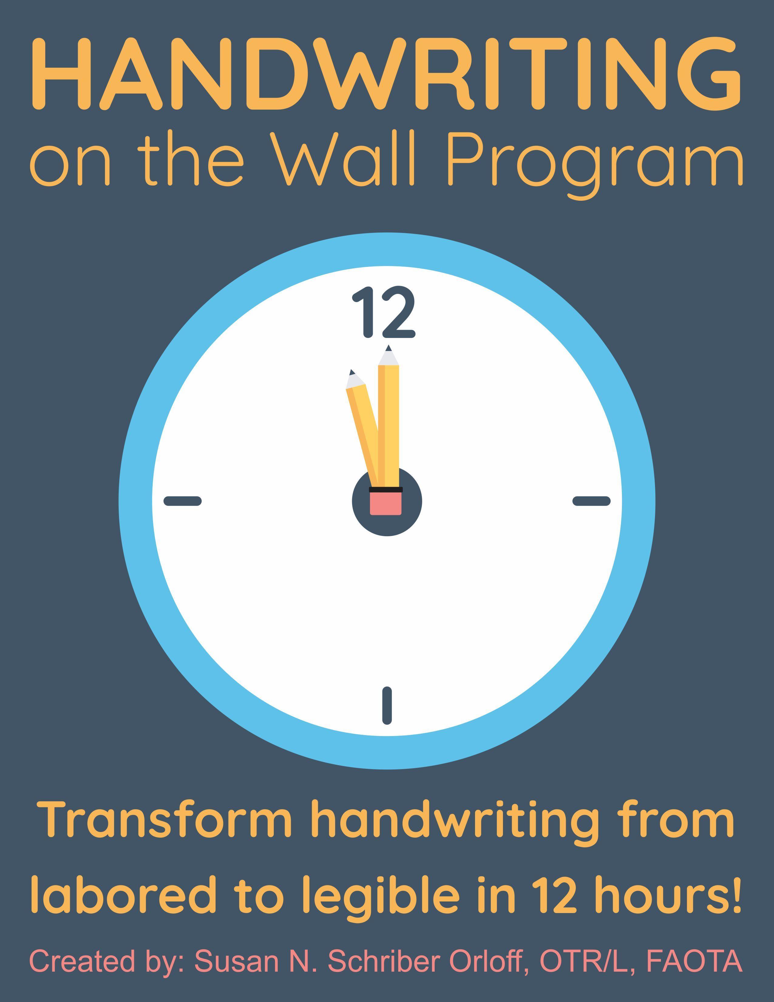 Handwriting On The Wall Program