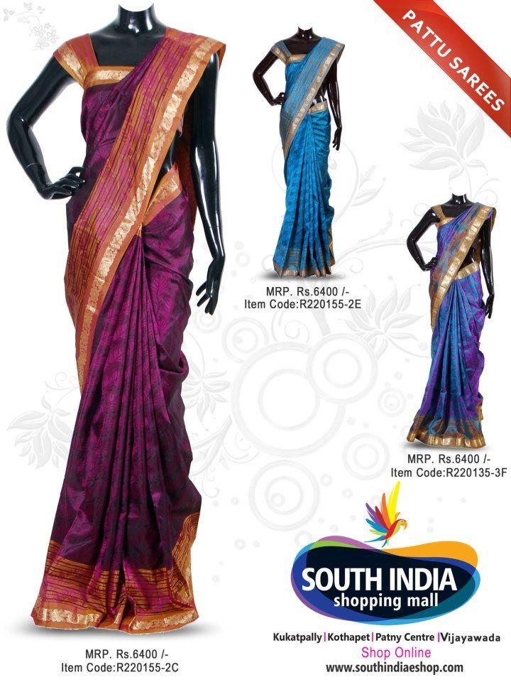 Pattu Sarees Latest New Collections South India Shopping Mall Kukatpally Patny Center Kothapet And Vijayawada India Shopping Indian Outfits South India