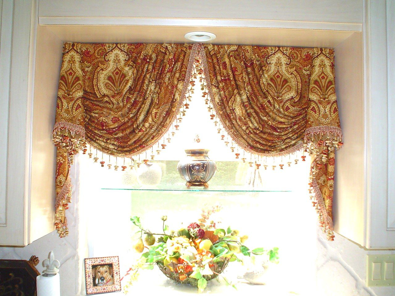Over A Sink Cool Curtains Curtain Designs Window Styles