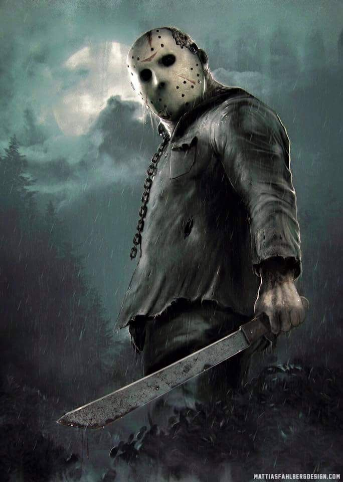 Jason Voorhees-Friday the 13th............