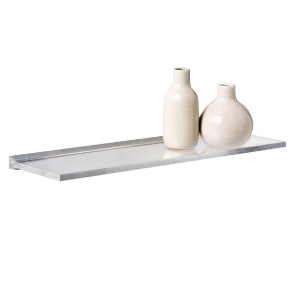 Astonishing Umbra Sheer Acrylic Wall Shelf Bafroom Shelves Wall Download Free Architecture Designs Embacsunscenecom