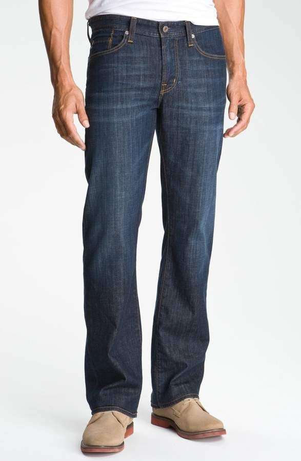 c4f3e853aaaedd AG Jeans Protege Straight Leg Jeans | Rob | Tall jeans, Buckle jeans ...