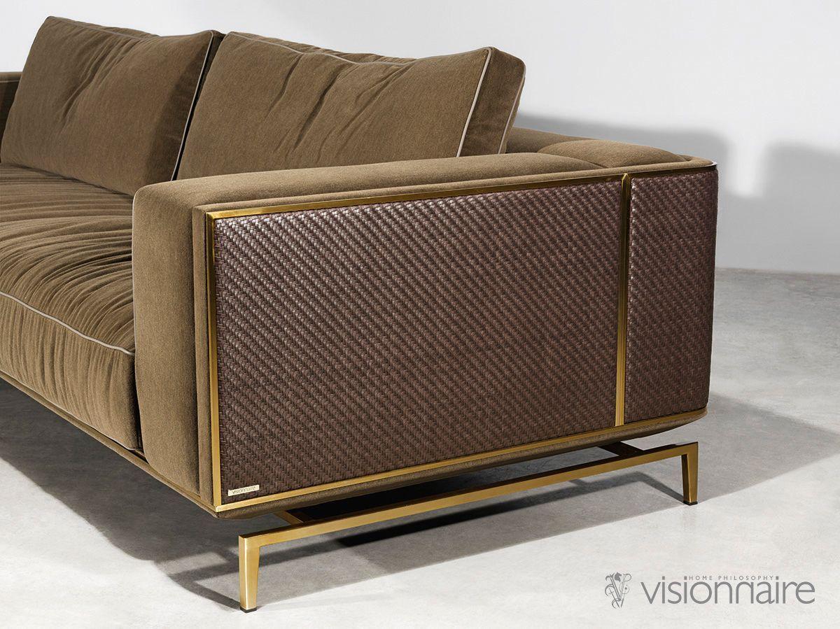 Designer Backstage Sofa Italien Designer Italien Et Meubles De Luxe Chez Cassoni Backsta In 2020 Luxury Furniture Sofa Modern Sofa Designs Luxury Sofa