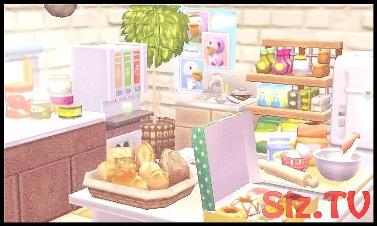 """acnlvevo """"happy home designer and all of its food options"""