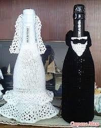 Resultado De Imagen Para Funda A Crochet Para Botella En Forma De
