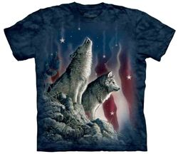 Falling Stars T-Shirt by The Mountain available from the Wolf Den Store