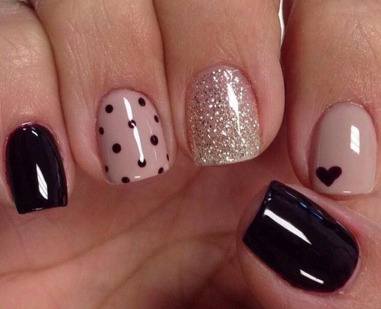 uñas de gel 5 mejores equipos | Manicure, Fall nail colors and ...