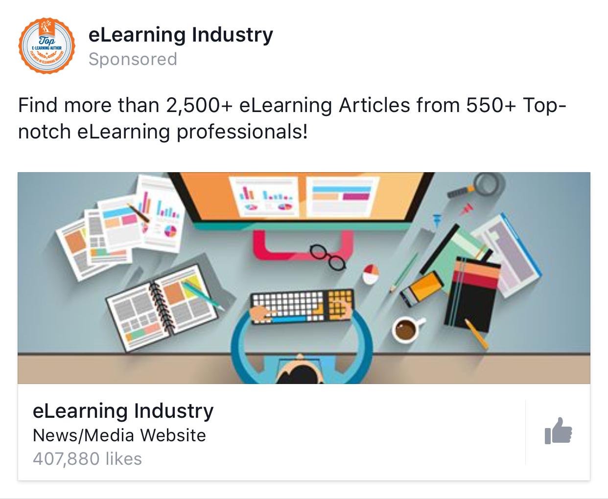 Facebook Page Like Ad Examples Jess Bahr Web Development Design Website Design Company Web Design Services
