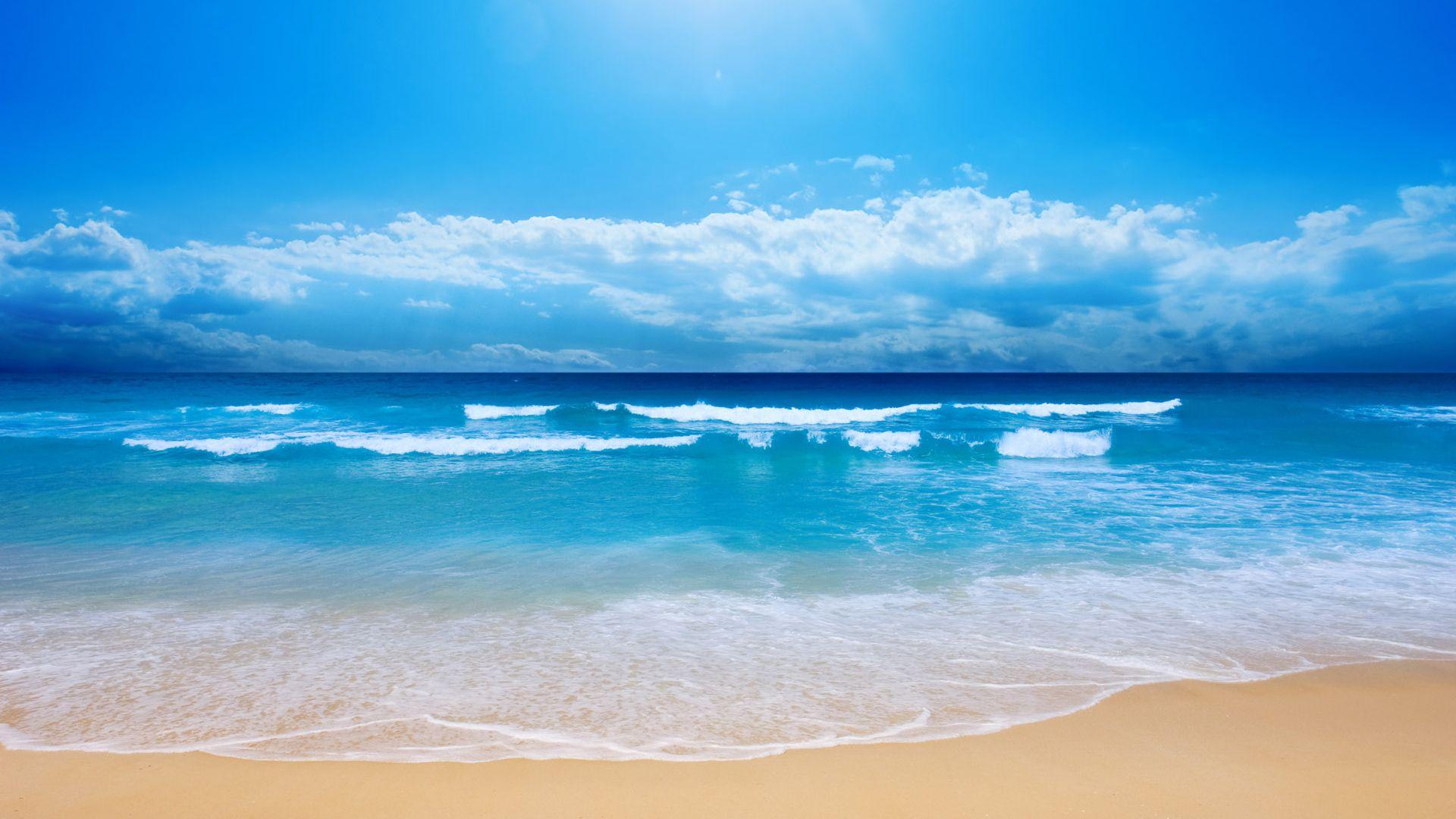 Gambar Pemandangan Pantai Pantai Pemandangan Gambar
