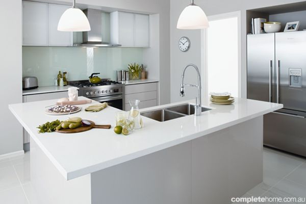 Bon Kaboodle Kitchen   Breathing New Life, Available At Bunnings #cleanwhite  #modern #renovation   Design Ideas   Pinterest   Breathe, Kitchens And  Modern