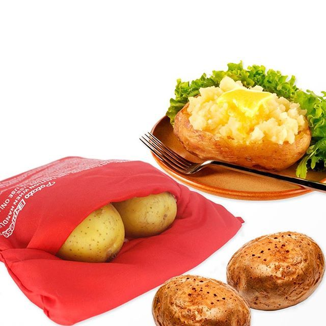Baked Potato Cooker Microwave Bag For Cooking Potatos Quickly And Easily 9 99