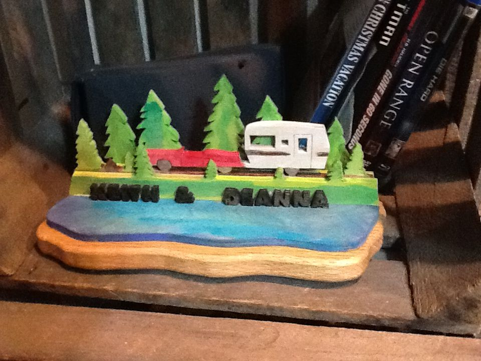 Our camper made by rob jackson