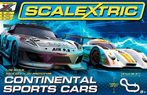 Scalextric Continental Sports Cars Set 132 Scale Click Image To Review More Details Note It Is Affiliate Link To Slot Car Sets Sports Cars New Sports Cars