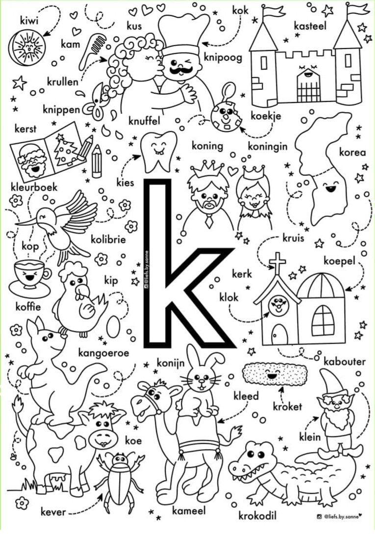 Pin Van Claudiaromo Op Keuzehoeken Letterherkenning Spelletjes Alfabet Boek Alfabet Kleurplaten